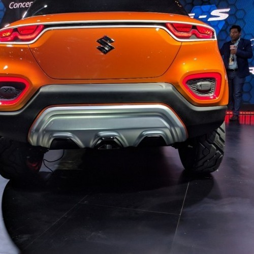 Maruti Future S Rear Fascia