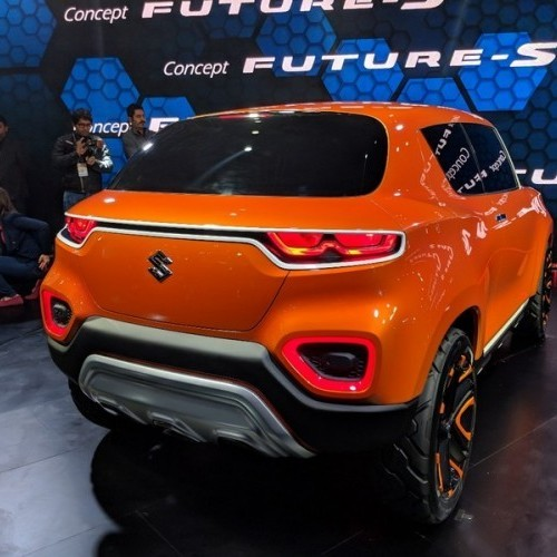 Maruti Future S Rear Quarter View