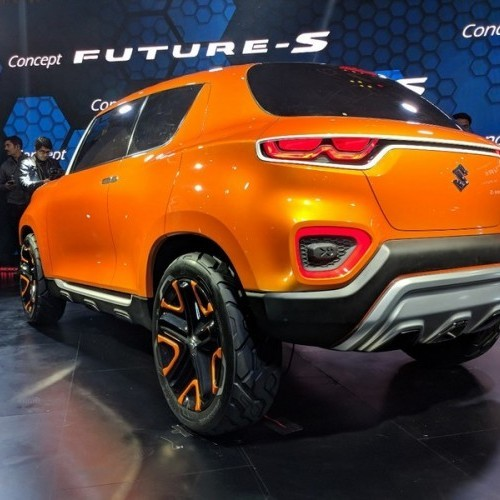 Maruti Future S Rear Three Quarter View