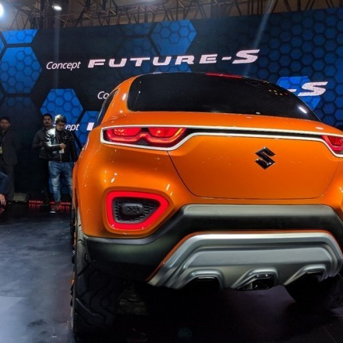 Maruti Future S Rear View