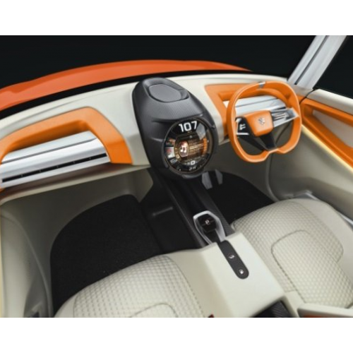 Maruti Future S Suv Interiors Dashboard