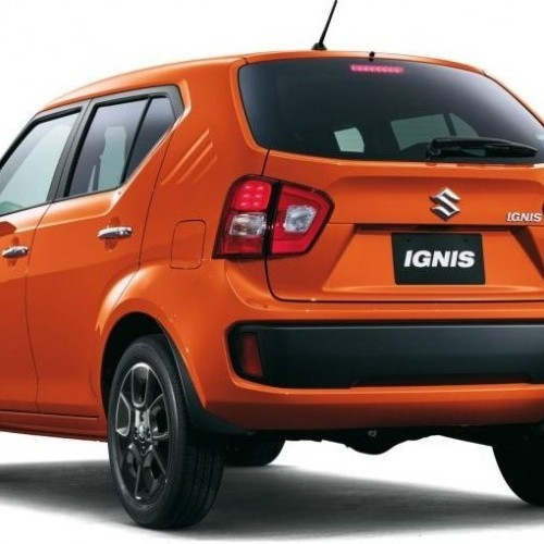 Suzuki Ignis Rear Right Quarter View