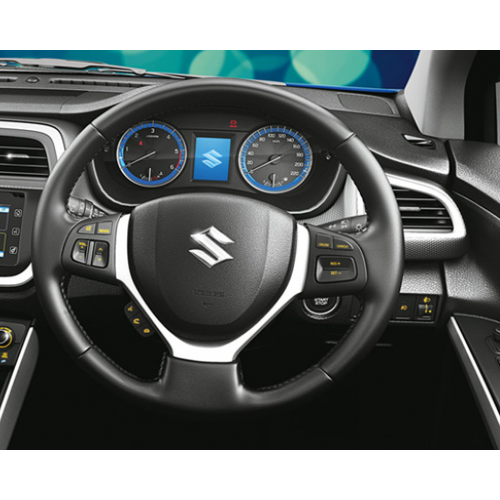 Maruti Scross Interiors Steering Wheel
