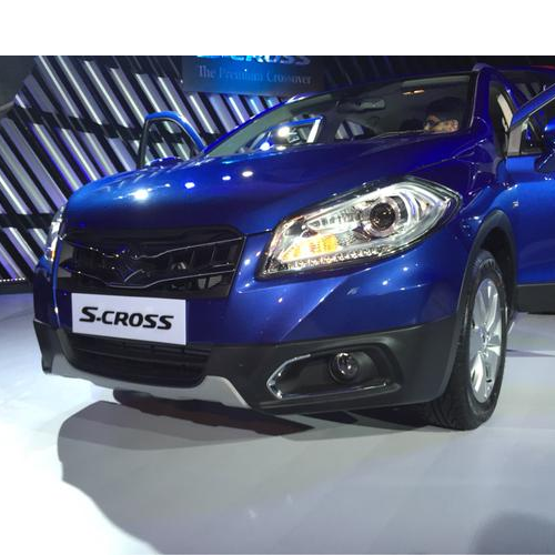 Maruti Scross Launch Picture Blue Front