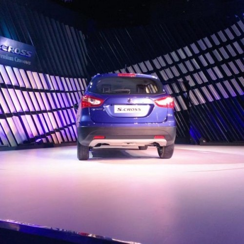 Maruti Scross Launch Picture Blue Rear