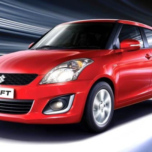 Maruti Swift Facelift Front Side View Day Time Running Light