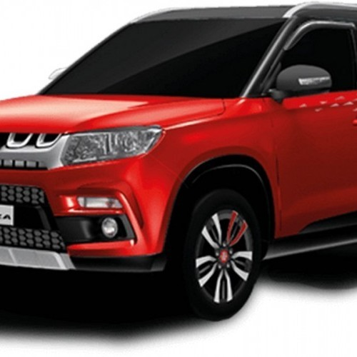 Maruti Vitara Brezza Car Glamourous Accessories Customisation