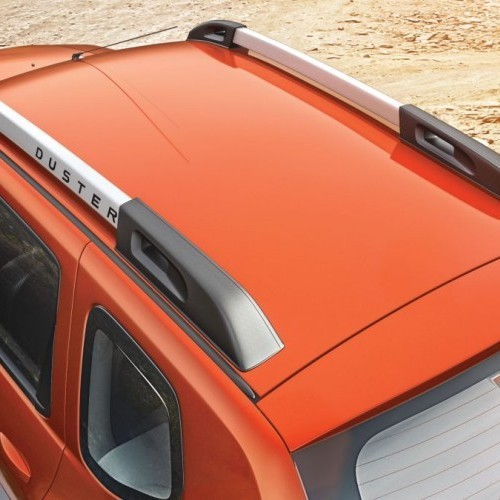 2016 Renault Duster Top View Roof Rail
