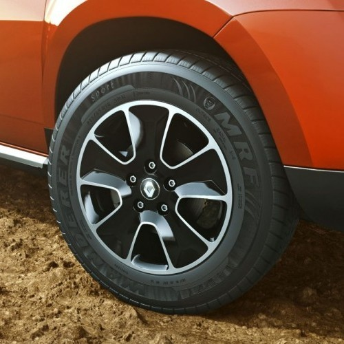 2016 Renault Duster Tyres Alloy Wheels