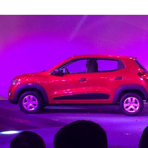 Renault Kwid Side View
