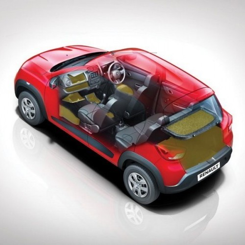 Renault Kwid Storage Spaces