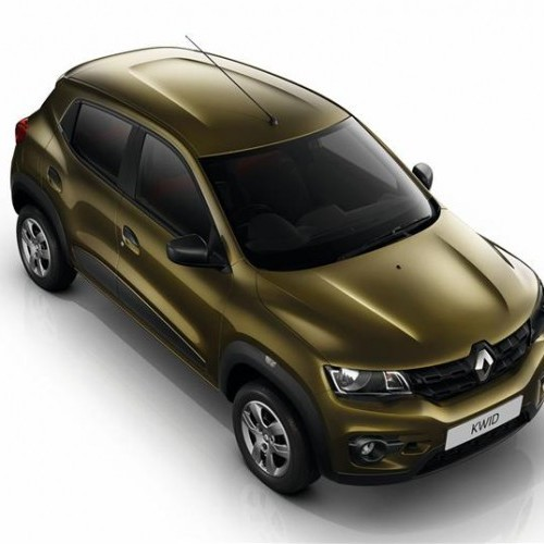 Renault Kwid Top View Hd
