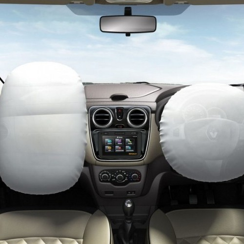 Renault Lodgy Interiors Airbags
