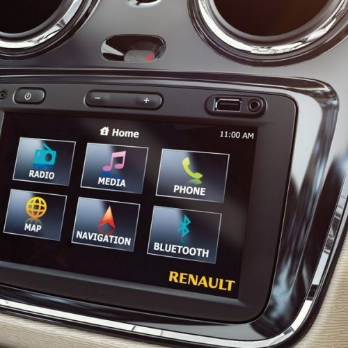 Renault Lodgy Interiors Touchscreen Audio System