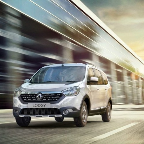 Renault Lodgy On Road Picture