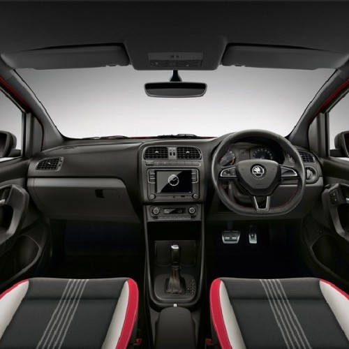 2017 Skoda Rapid Interior View