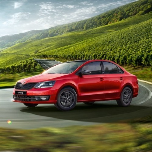 2017 Skoda Rapid Wallpaper