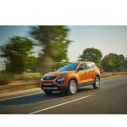 Tata Harrier Running Still