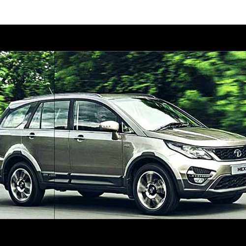Tata Hexa Side View 1