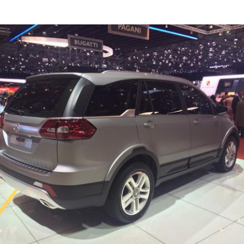 Tata Hexa Suv Rear View