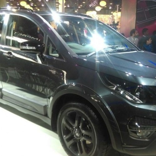 Tata Hexa Suv Side Look