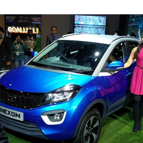 2016 Tata Nexon Quarter Side View