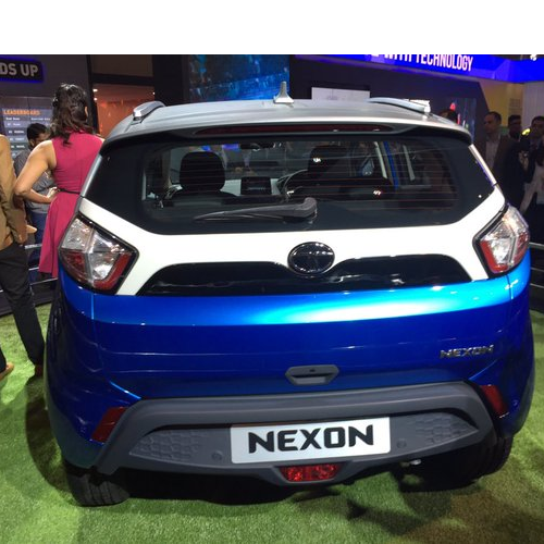 2016 Tata Nexon Tail Lamp Boot Lid