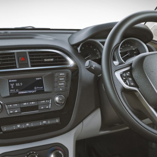 Tata Tiago Interiors Central Console Music System