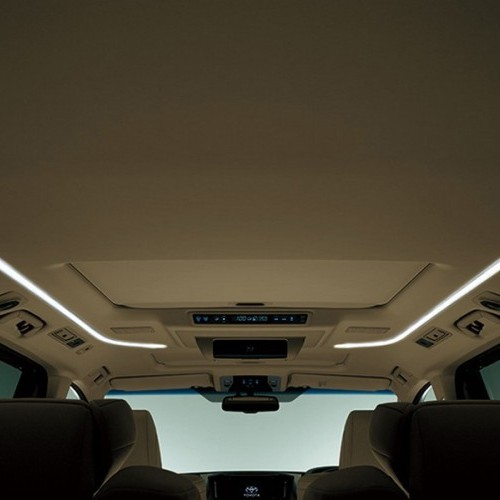 Toyota Alphard Interior Top View