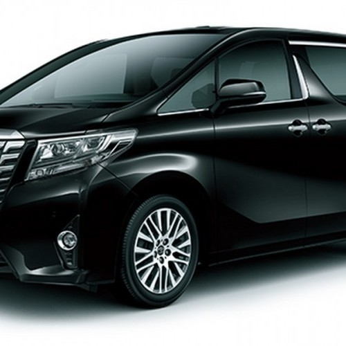 Toyota Alphard Side View