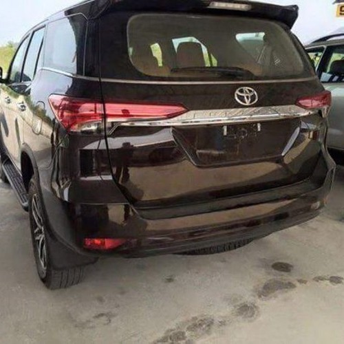 2016 Toyota Fortuner Spy Rear View