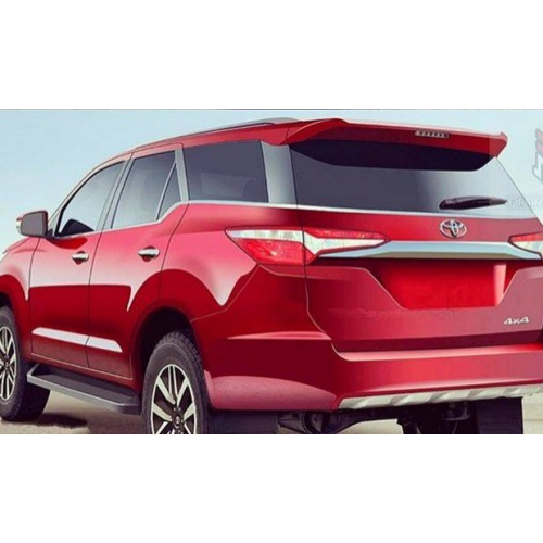 Toyota Fortuner 2016 Rear View