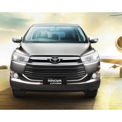 Toyota Innova Crysta Front View Grille Headlamps