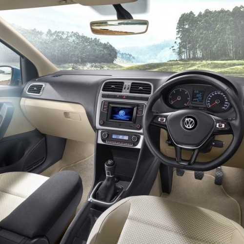 Volkswagen Ameo Car Interiors Full Dashboard