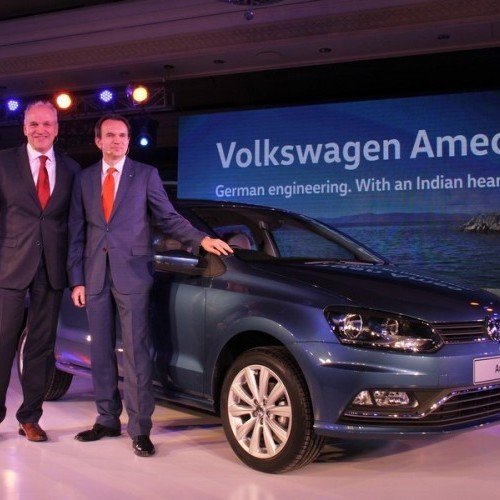 Volkswagen Ameo Official Launch Picture