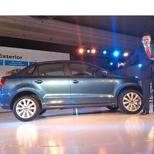 Volkswagen Ameo Right Side View