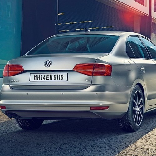 2016 Volkswagen Jetta Rear View