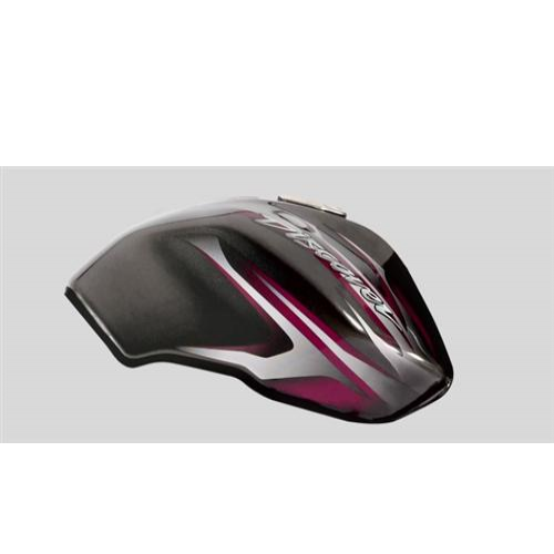 Bajaj New Discover 125 Colour Charcoal Magenta Silver