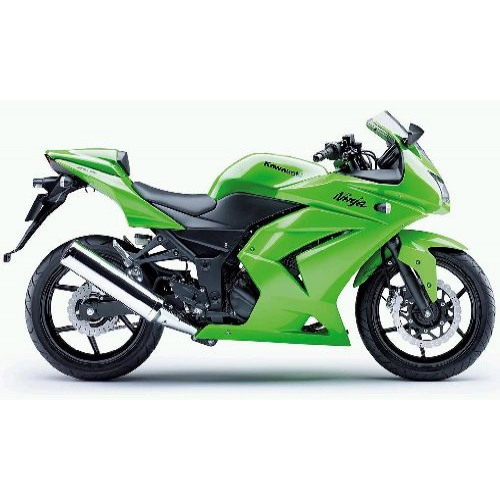 Bajaj Ninja Colour Green