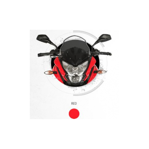 Bajaj Pulsar 150 As Colour Red