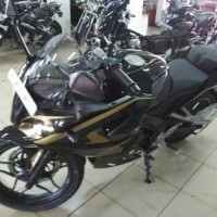 Bajaj Pulsar Rs200 Black Colour Side