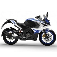 Bajaj Pulsar Rs200 Colour Racing Blue