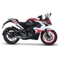 Bajaj Pulsar Rs200 Racing Red Color
