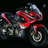 Bajaj Pulsar Rs200 Red Colour