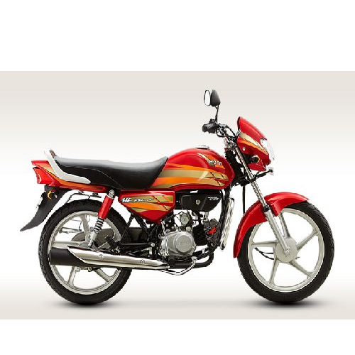 Hero Honda Cd Deluxe Colour Candy Blazing Red