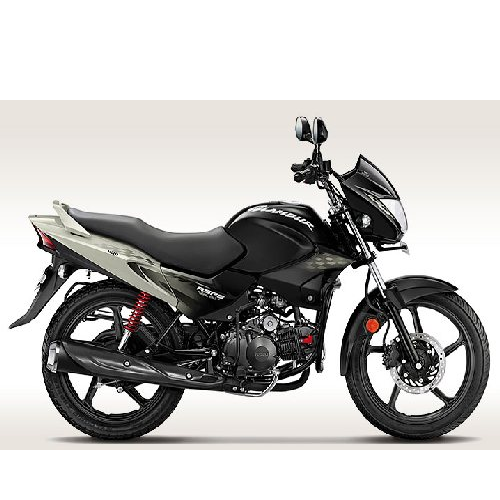 Hero Honda Glamour Colour Black With Silver