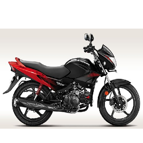 Hero Honda Glamour Colour Red With Black