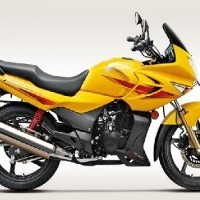Hero Honda Karizma Colour Daring Yellow