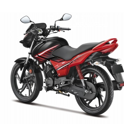 Hero Glamour Ismart Colour Red