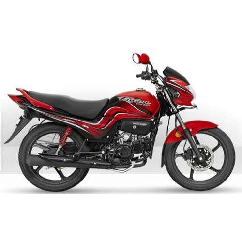 Hero Passion Pro 100 Colour Black With Red